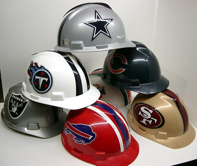 NFL Hardhats 97feb21bad80